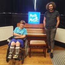 Mentorship Scheme benefits two young musicians