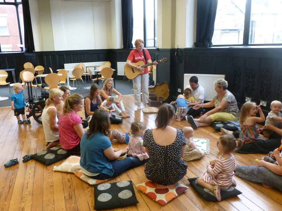 Making music for under 5's