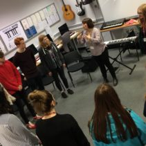 Singing masterclasses at Burnley College