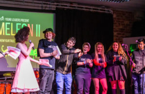 Young people celebrate positive mental health