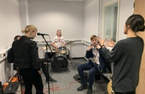 Inspiring music masterclasses for Lancashire FE students