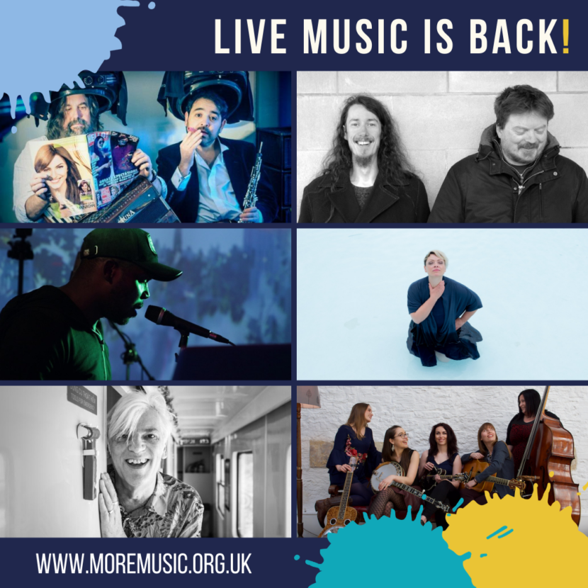 Live music is back in the building!